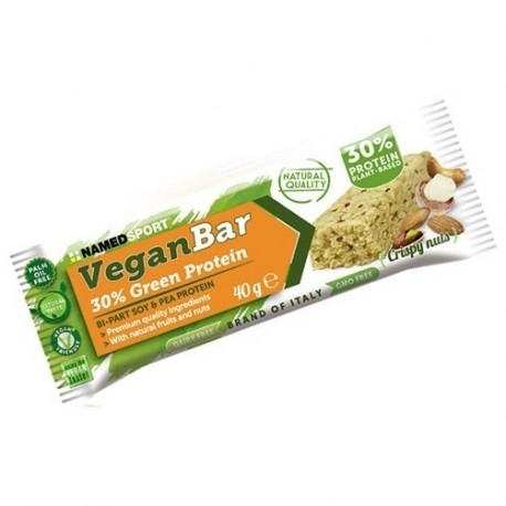 Barrette proteiche Named Sport, Vegan Bar, 40 g. (Sc.03/19)