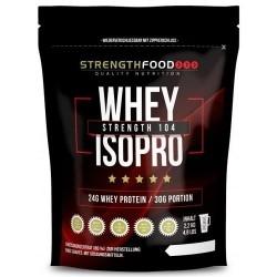 Proteine del Siero del Latte Strength Food, Whey Isopro, 2200 g