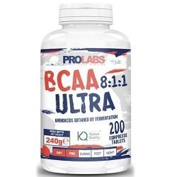 Aminoacidi Ramificati (Bcaa) Prolabs, Bcaa Ultra 8:1:1, 200cpr.