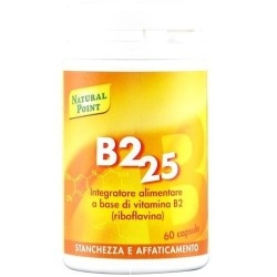 Vitamina B Natural Point, B2 25, 60 cps. (Sc.05/2019)