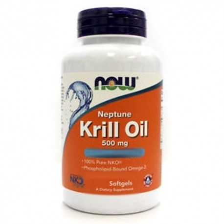 Omega 3 Now Foods, Krill Oil, 60 perle (Sc.05/2019)