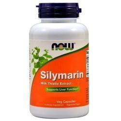 Cardo mariano Now Foods, Silymarin, 60cps.