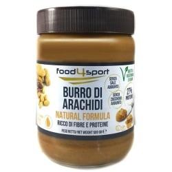 Creme alimentari Pro Nutrition Food4sport, Burro di arachidi, 500 g