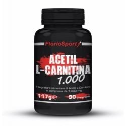 Acetil L-Carnitina FlorioSport, Acetil L-Carnitina 1000, 90 cpr.