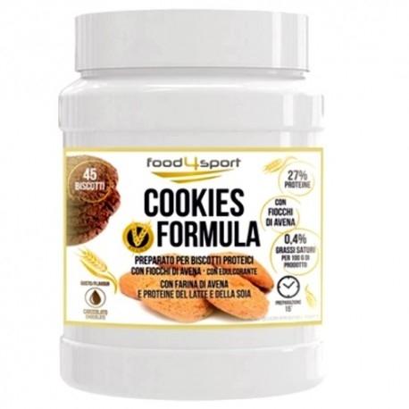 Pasti e Snack Proteici Pro Nutrition Food4Sport, Cookies Formula, 500 g.