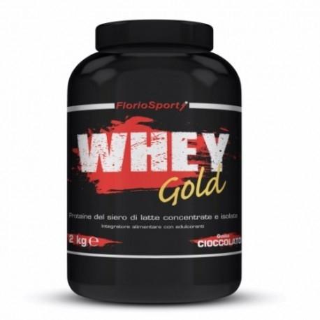 Proteine del Siero del Latte (whey) FlorioSport, Whey Gold, 2000 g.