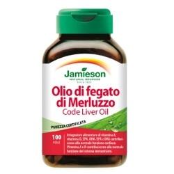 Omega 3 Jamieson, Olio di Fegato di Merluzzo, 100Perle.