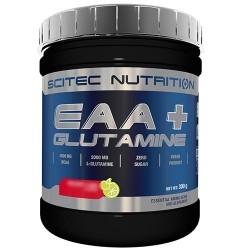 Aminoacidi essenziali Scitec Nutrition, EAA + Glutammina, 300 g
