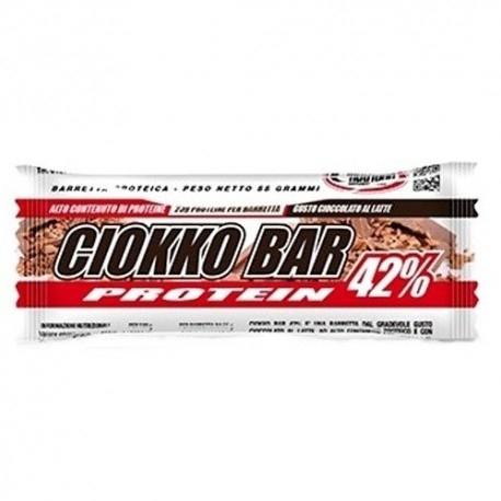 Barrette proteiche Pro Nutrition, Ciokko Bar 42%, 55 g (Sc.08/2019)