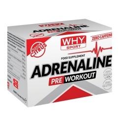 Pre Workout WHY Sport, Adrenaline, 10bustine