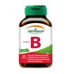 Vitamina B Jamieson, Complesso B, 60 cpr.