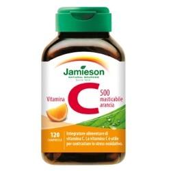 Vitamina C Jamieson, C 500 masticabile, 120cpr.