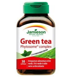 Jamieson, Green tea, 30 cps.