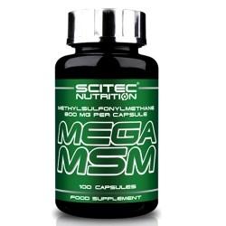 Scitec Nutrition, Mega MSM, 100 cps.