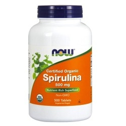 Now Foods, Spirulina, 200 cpr.