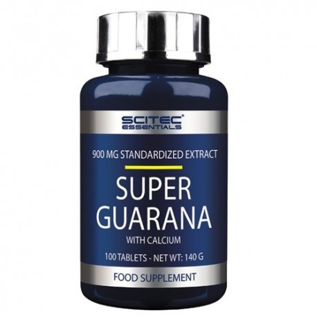 Guarana Scitec Nutrition, Super Guarana, 100cpr.