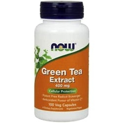 Tè verde Now Foods, Green Tea Extract, 100cps.