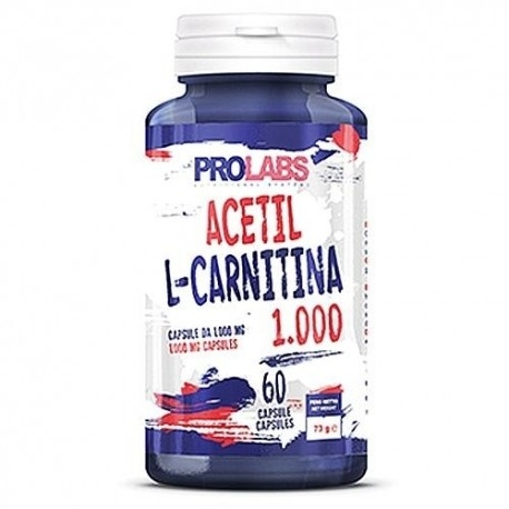 Prolabs, Acetil L-Carnitina 1000, 60 Cps.