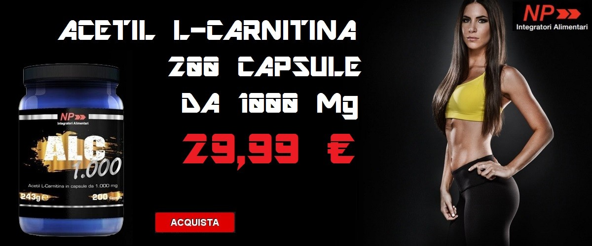 NP - Alc 1000 200 cps. Acetil Carnitina in offerta.